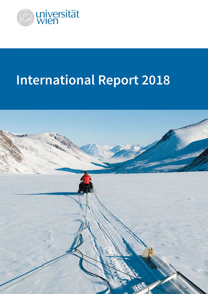 Cover of the International Report 2018