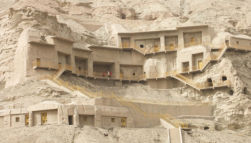 the Kizil Thousand Buddha Caves