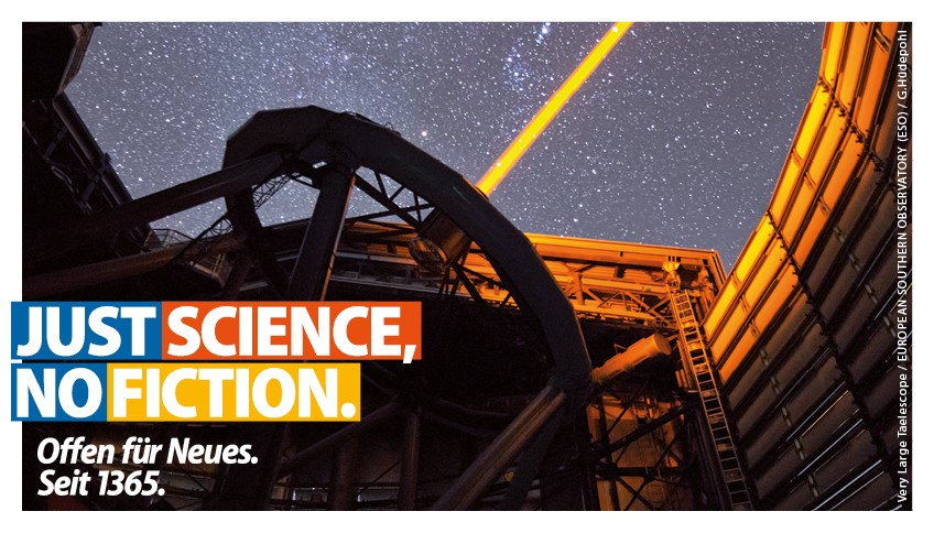 Sujet Just science, no fiction